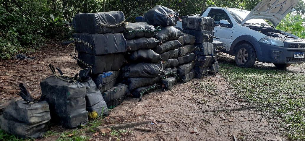 Carro com drogas no Pará