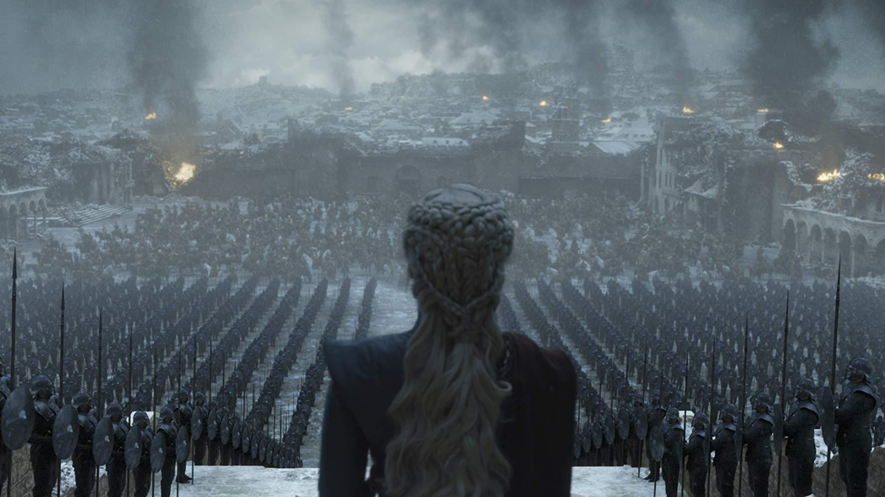 Cena da série Game of Thrones