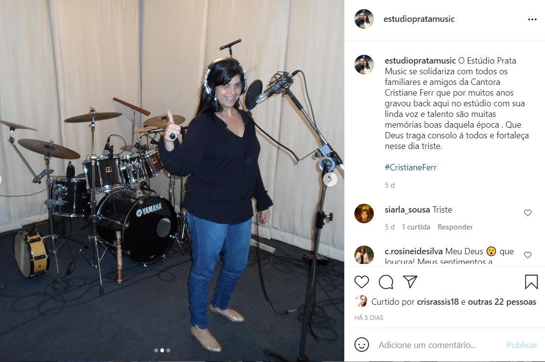 Cantora gospel Cristiane Ferr, defensora do 'tratamento precoce', morre de  Covid-19 - Zoeira - Diário do Nordeste