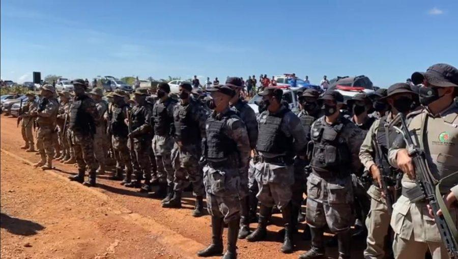 Forças de segurança de Goiás