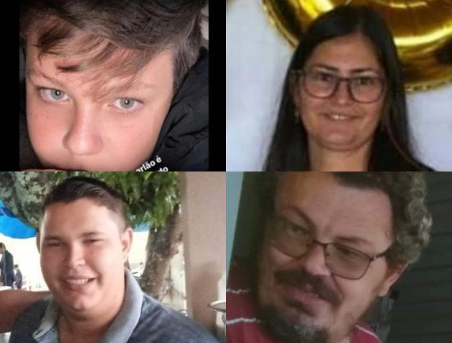 Vítimas de latrocínio de autoria de Lázaro Barbosa, segundo a polícia