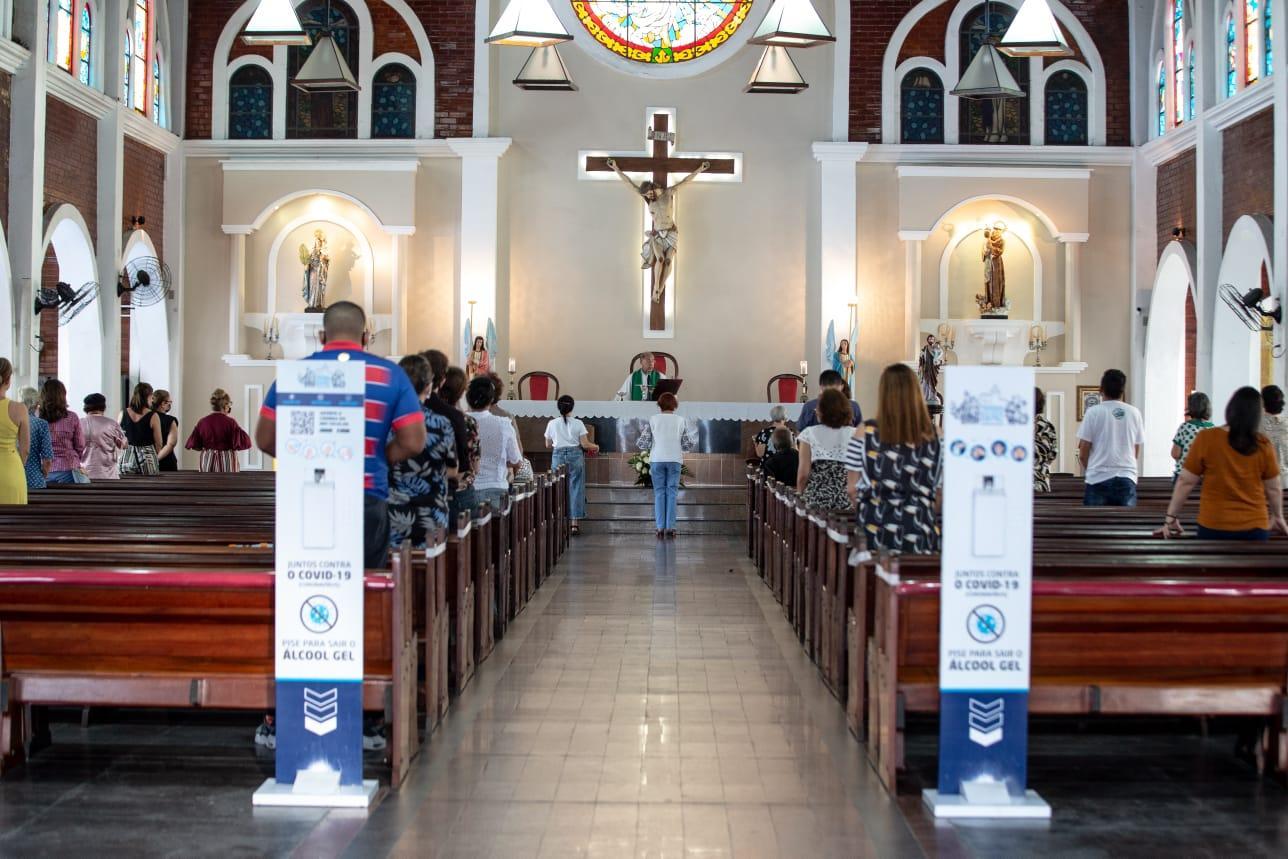 missa na paróquia da paz
