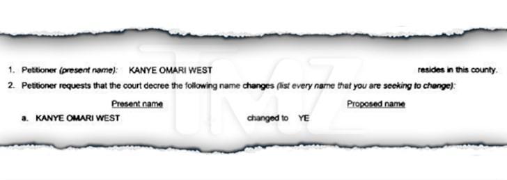 Trecho de processo de Kanye West