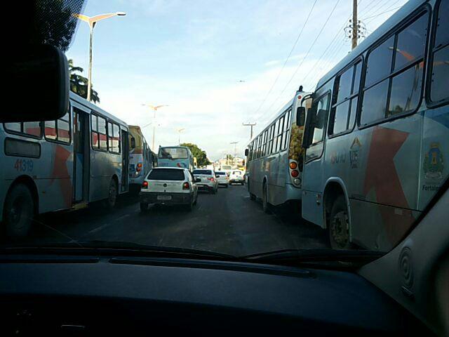Paralisação de ônibus