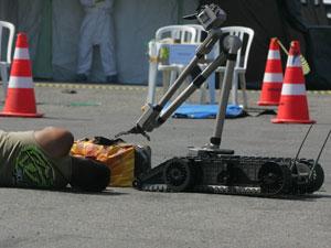Órgãos de segurança realizam simulação de ocorrências graves
