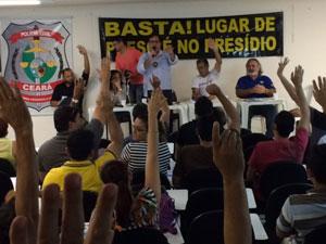 Policiais civis entram em estado de greve na segunda-feira (2)
