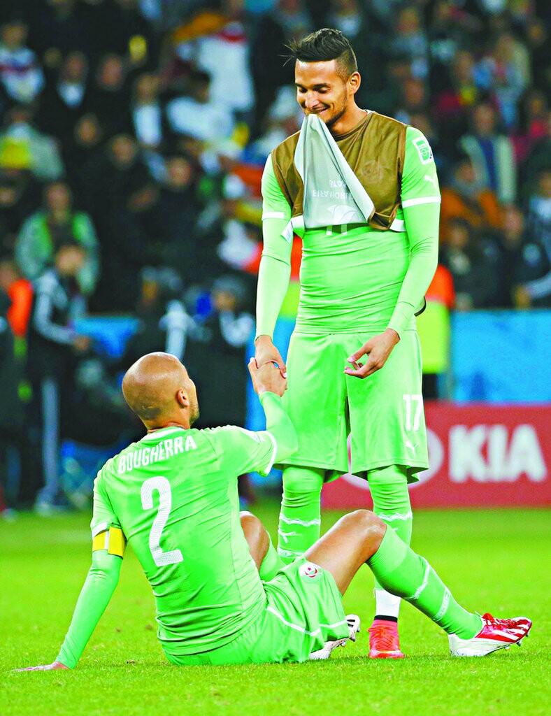 eliminação da Argélia