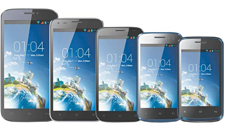 Os novos smartphones chegam ao mercado com telas a partir de 5 polegadas, seguindo uma tendência ditada pelo consumidor, que não deseja mais os modelos com telas de 3 ou 4 polegadas