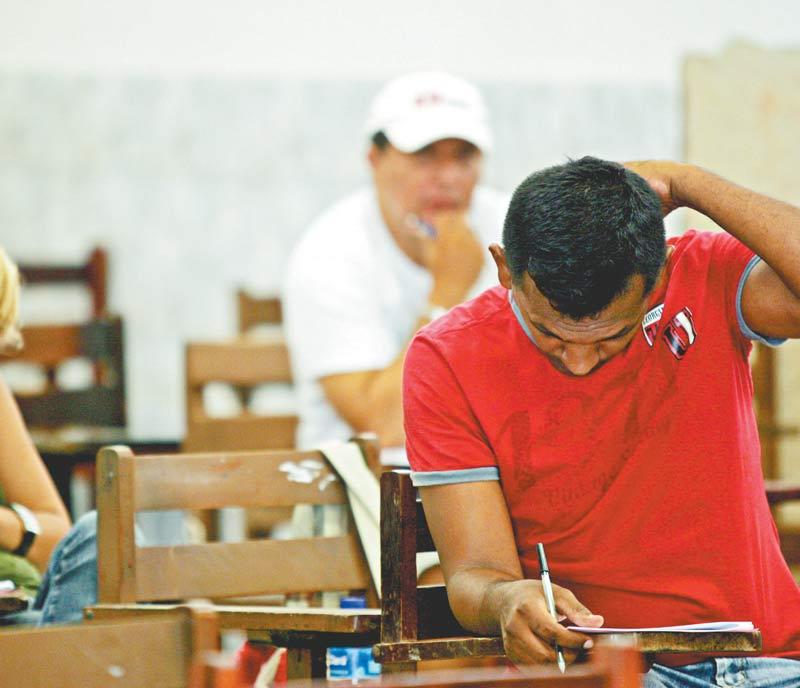 O conteúdo programático da prova aborda língua portuguesa; matemática; informática; e conhecimentos do SUS, SUAS, regionais e específicos