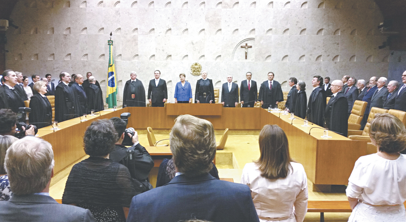 Novo presidente do STF