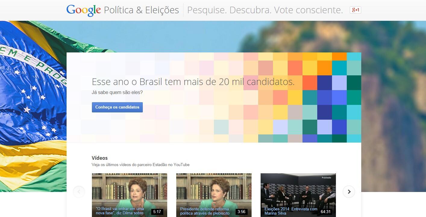Google Eleições