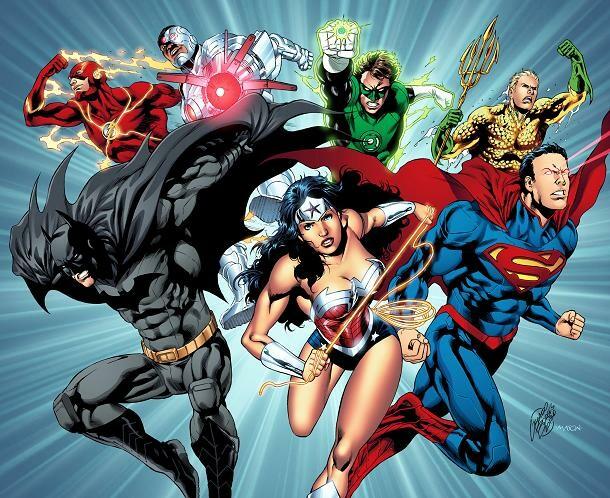 Personagens já desenhados por Geraldo Borges para a DC Comics, uma das maiores editoras de quadrinhos do mundo