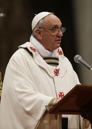 Francisco disse que não a teoria não se opõe à ideia de um criador divino-justo ao contrário, exige um criador