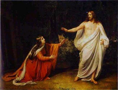 Maria Madalena foi pintada em diversas obras de arte com Jesus