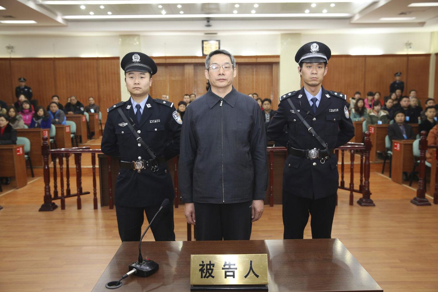 b66e27891b1 Ex-parlamentar é condenado a prisão perpétua na China por crimes de  corrupção