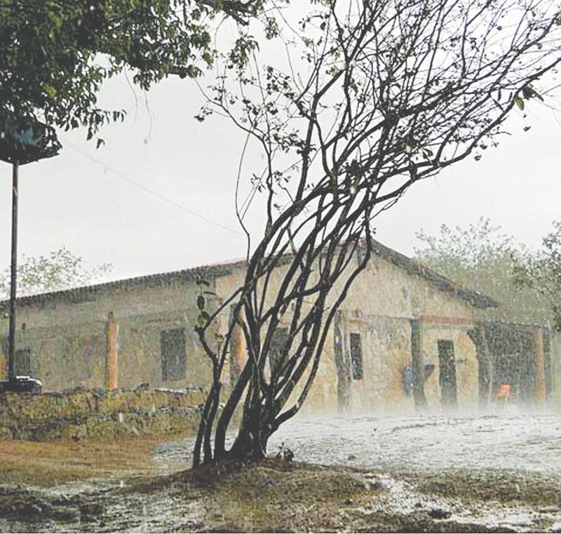 Mesmo com as pequenas precipitações, moradores comemoraram a mudança de clima e renovam as esperanças em relação ao inverno