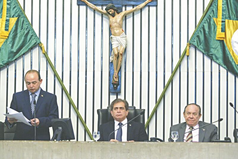 PROS terá os cargos mais importantes: José Albuquerque continua presidente, Sérgio Aguiar 1º secretário e Manoel Duca 2º secretário