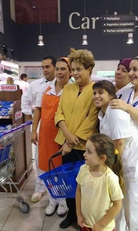 Dilma no Uruguai