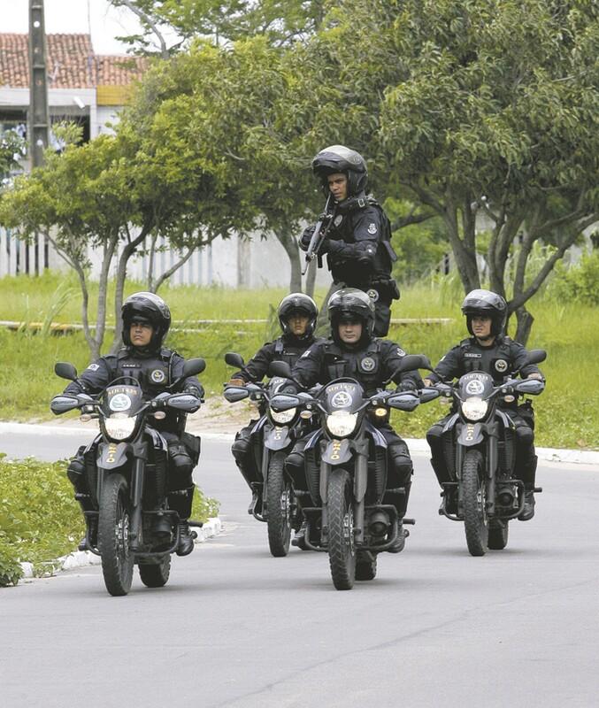 O treinamento dos novos policiais militares do Batalhão de Rondas de Ações Intensivas e Ostensivas (BPRaio), que atuarão na região, deve durar seis semanas e a previsão é que em dois meses, os militares já estejam nas ruas
