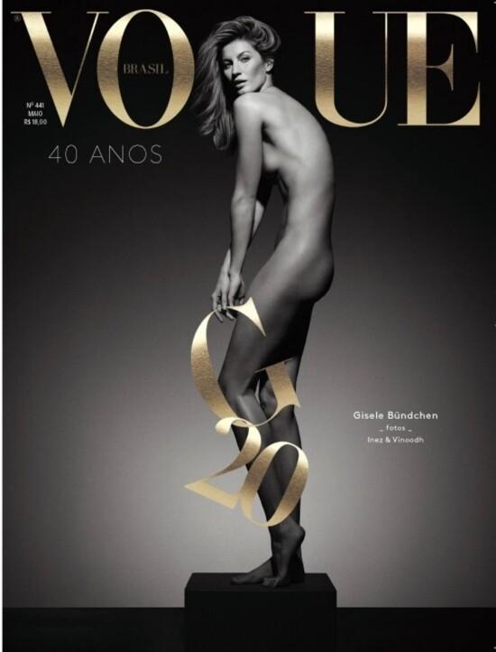 Gisele capa Vogue