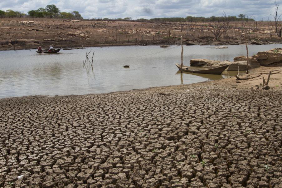 Segundo Funceme, quadra chuvosa foi abaixo da média e não conseguiu repor a capacidade hídrica dos reservatórios