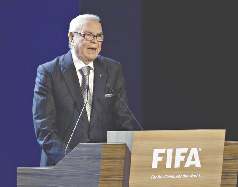 Marin presidiu a CBF de 2012 a 2015 e o comitê organizador da Copa no Brasil