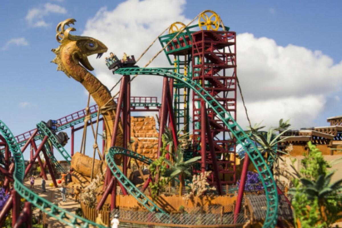 Nova Montanha Russa Do Busch Gardens Ter Cobras De Verdade Tur Di Rio Do Nordeste