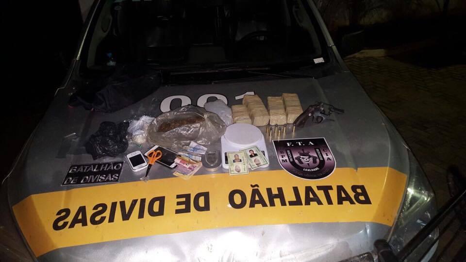 Polícia desarticula ponto utilizado para venda de drogas no Crato