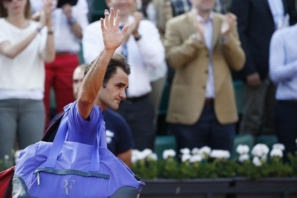 Oficial: Roger Federer falha Roland Garros