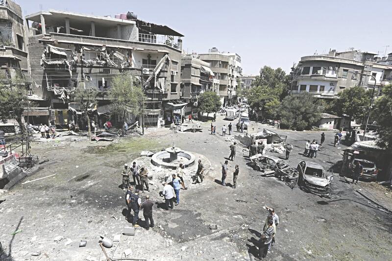 Atentado com carro-bomba deixa cerca de 20 mortos em Damasco