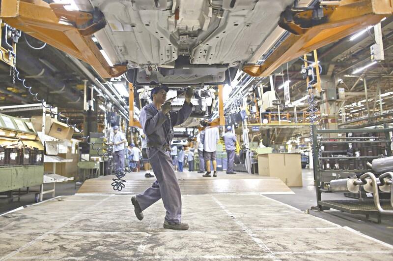 Produção industrial cresce e tem maior avanço em mais de 3 anos