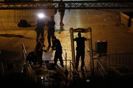 Israel decide remover detectores de metal do Monte do Templo