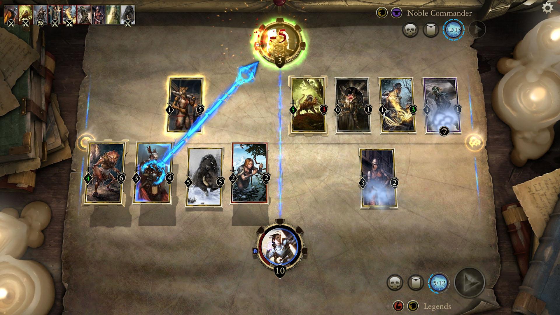 The Elder Scrolls Legends finalmente é lançado para smartphones