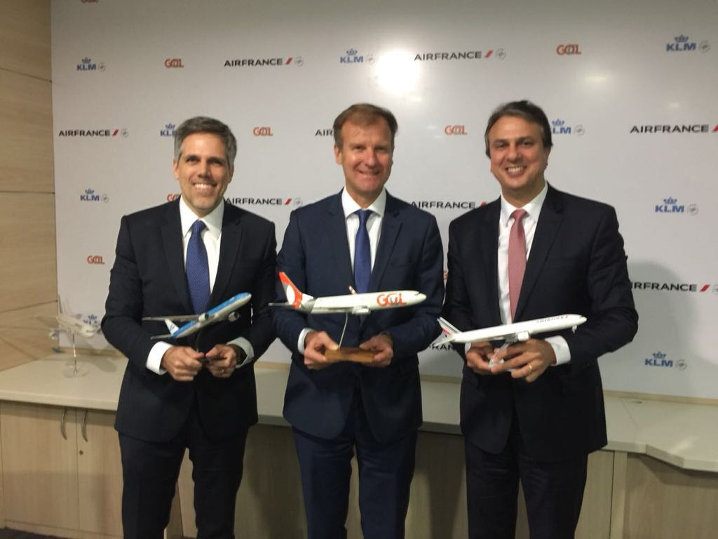Air France-KLM e Gol anunciam hub em Fortaleza