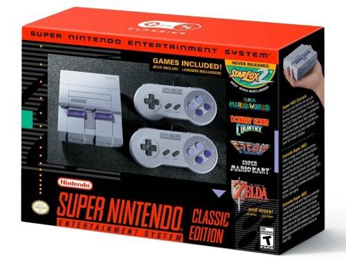 Novo Super Nintendo tem hardware idêntico ao NES Classic Edition