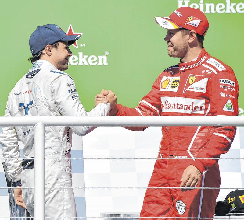 No 1º treino livre Hamilton bate recorde em Interlagos e lidera