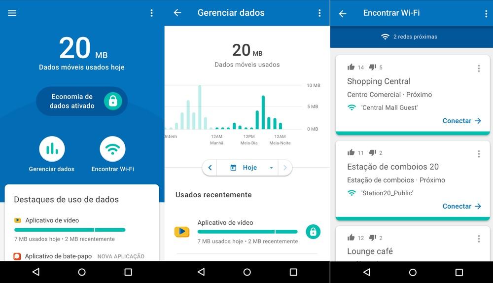 Google lança aplicativo que controla gasto de internet no celular