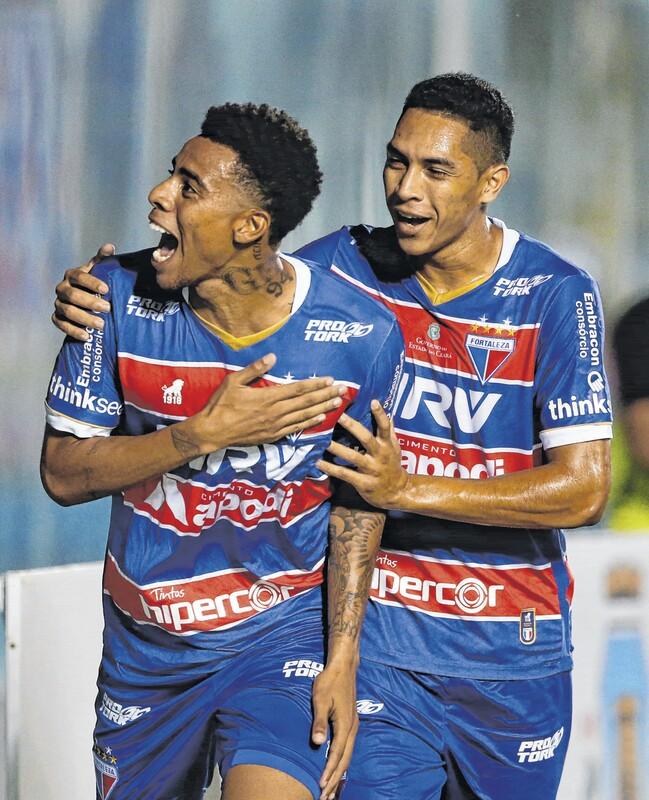 Gustavo comemora boa fase e exalta papel de Ceni no Fortaleza