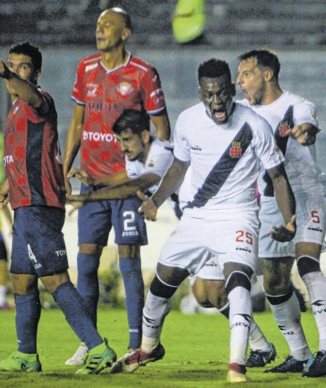 Vasco inicia último mata-mata antes da fase de grupos da Libertadores