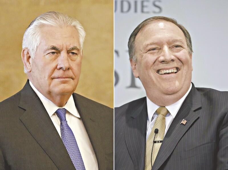 Trump demite secretário de Estado Rex Tillerson