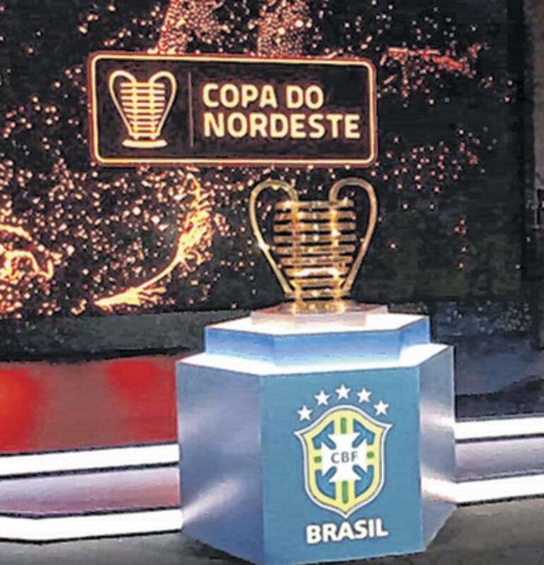 Sorteio define confrontos da quartas de final da Copa do Nordeste