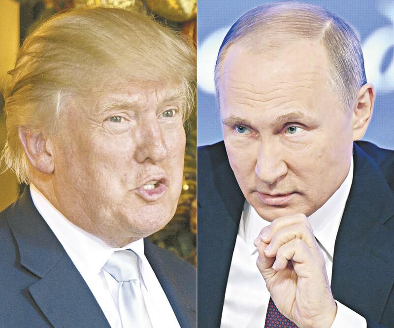 Trump propõe encontro com Putin em Washington