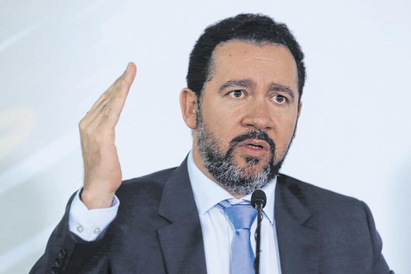 Temer, Trabuco e Wilson Ferreira participam de posse de Dyogo no BNDES