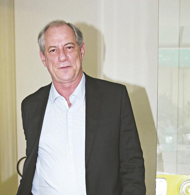 'Projeto do PT não é o meu', diz Ciro Gomes