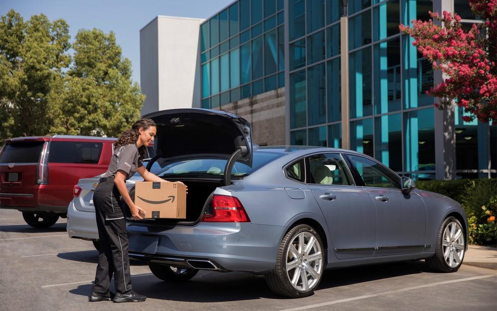 Amazon usará tecnologia para entregar compras no porta-malas do seu carro