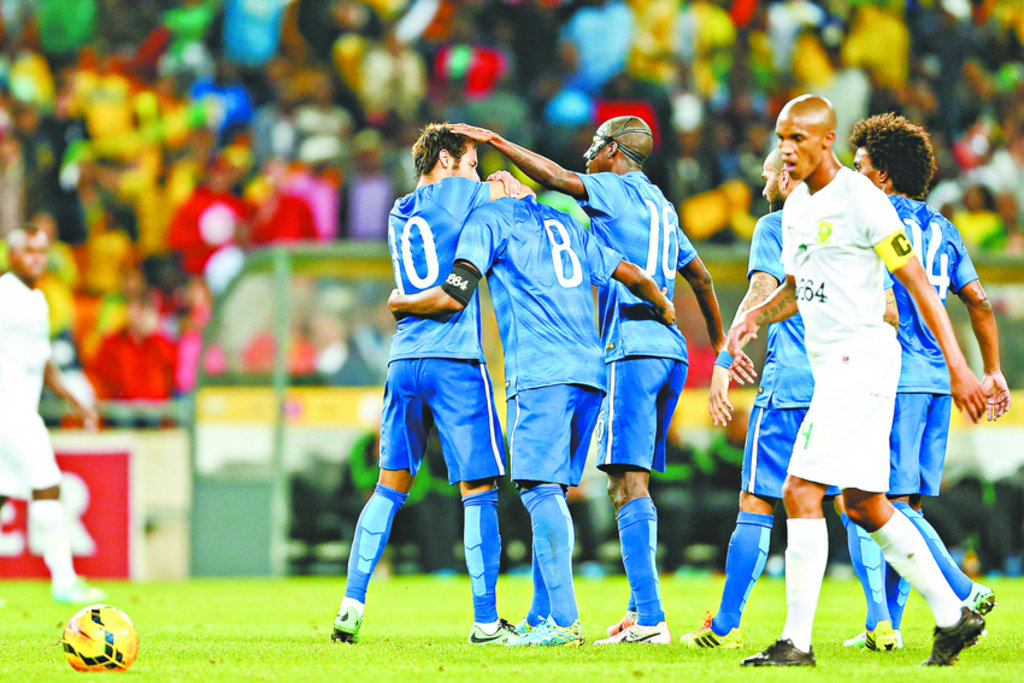 Seleção Brasileira trocou de uniforme e estreou sua camisa azul