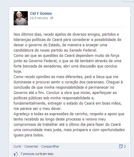 Cid Facebook